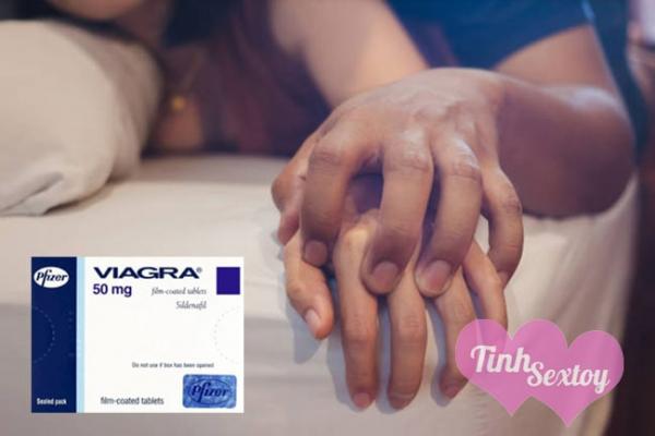 Viagra 50 mg tăng khả năng cương dương
