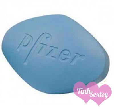 Hình dạng viên thuốc Viagra 50mg