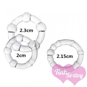 Kích thước vòng đeo silicon